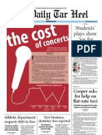 The Daily Tar Heel for October 10, 2011