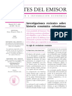 Impacto Banco de La Republica