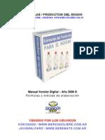 Formulas - Productos Del Hogar