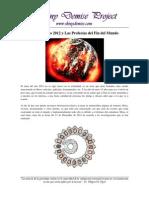 Sobre el 2012 y Las Profecías del Fin del Mundo