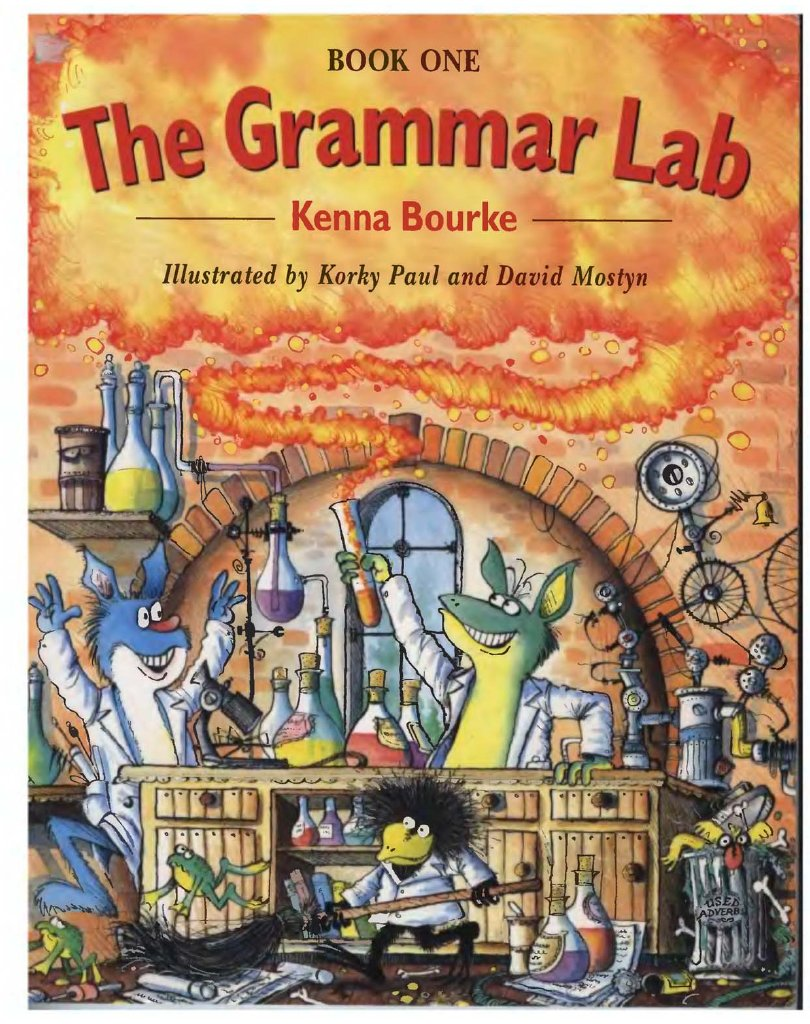 lab book grammar 1 the