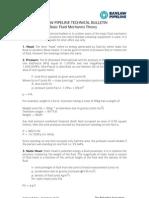 Technical Bulletins > TB - Fluid theory 0400