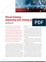 Visual Training Improving Your Aiming Accuracy