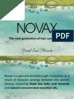 NOVAX Hair Care - Presentation