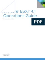 VMware ESXi 41 Operations Guide TWP