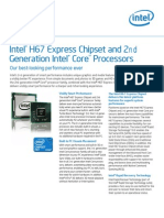 h67 Express Chipset 2nd Gen Core Brief