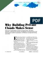 Private Cloud Makes Sense