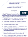 The Disposal of Records (in the Offices of the Registrars of Companies), Rules, 1984