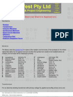 BOWest Library - Electrical Machine Applications