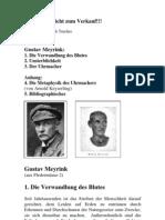 MEYRINK, Gustav - Diverse Kurzgeschichten