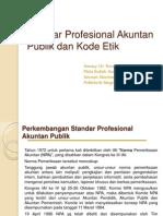 Standar Profesional Akuntan Publik Dan Kode Etik