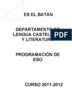 Programación ESO 2011-2012