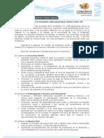 Declaración de la Iniciativa Latinoamericana Camino a Río+20