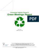 CIC Green Meetings Report