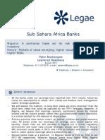 SSA Banks Nigeria Kenya Uganda