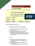 Comprehension Test One