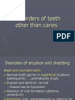 lecture 4 (part1) Disorders of Teeth Other Than Cariess (slide)