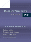 lecture 4 (part 2) Discoloration of Teeth (Slide)