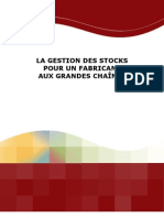 Gestion Stock Fabricant Chaines