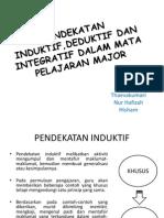 Pendekatan Induktif,Deduktif Dan Integratif Dalam Mata Pelajaran Major