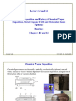 ECE6450L13and14-CVD and Epitaxy