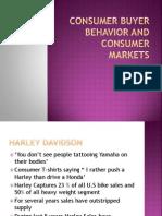 Consumer Buyer Behavior and Consumer Markets
