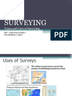 Lecture 3 Surveying Types and Uses