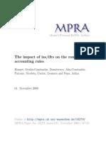 MPRA Paper 18279