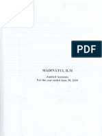 Audit Report 2010