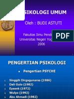 Bahan Ajar Psikologi Umum