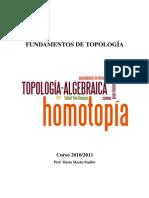 Fundamentos de Topología