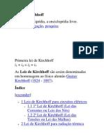Leis de Kirchhoff