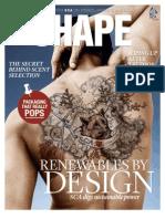 SCA magazine SHAPE 3 / 2011 focuses on sustainable energy - English