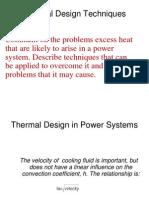 Thermal Designl