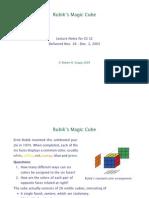 Rubik Cube Solve Doc