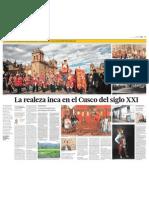 La Realeza Inca en El Cusco Del Siglo XXI