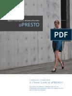 uPRESTO Leaflet 20110105