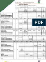 Oficiales horarios definitivos de Ingeniería de la Producción con las modificaciones realizadas durante la semana de pre-inscripción,