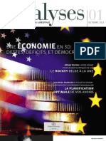 Analyses 01 FR - Le Magazine Financier & Lifestyle de Puilaetco Dewaay Private Bankers
