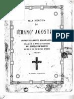 P. Creazzo, Orazione funebre per Agostino Jerano'