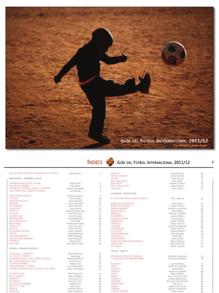 Guia de Fútbol Internacional 2011 2012 89b721eb97d