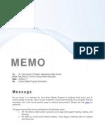 SLMC Program Evaluation Memo