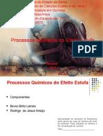 Processos químicos do efeito estufa