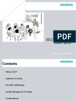 ISO 9001 2000 Overview -Induction Sep07