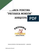 INFORME PECUARIA MONZON