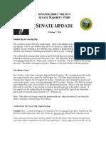 Sen. Tillman Newsletter 10-7-11