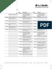 Educause Schedule