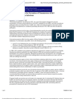 CDC Doc Universal Precautions for Prevention of Transmission of HIV