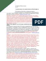 SUGESTOES DE RECURSO - DIREITO CONSTITUCIONAL