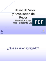 IntegracionCadenasValor